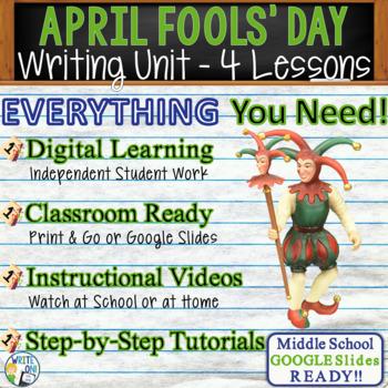April Fool's Day Writing BUNDLE! - Argumentative Persuasiv