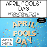April Fools' Day Informational Text
