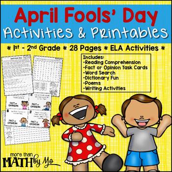 April Fools' Day Activities & Printables