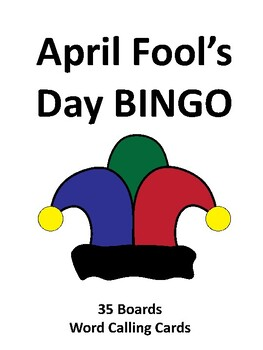 April Fool's Day BINGO!