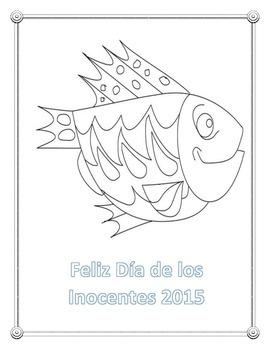 April Fools Day / Dia de los Inocentes Spanish Reading Activity