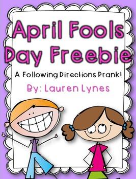 April Fools Day Freebie!