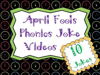 April Fools Day Phonics Jokes