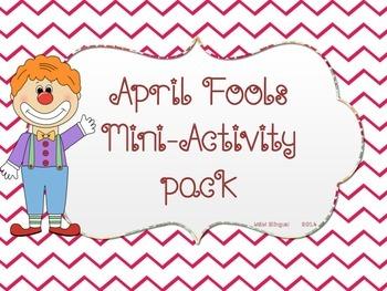 April Fools MiniActivity Pack