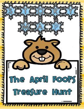 April Fools' Treasure Hunt Story Map/Comprehension Questions