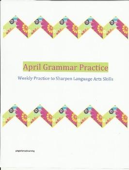 April Grammar Practice