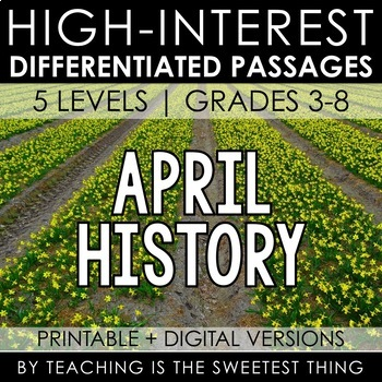 April Passages: History
