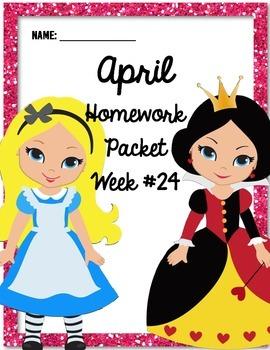 Homework Packet 24
