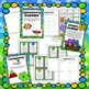 April Math Centers - Geometry and Fractions