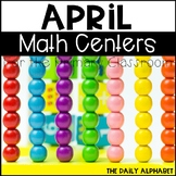 April Math Centers for the Primary Classroom
