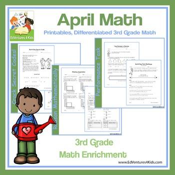 April Math: Enrichment Math for 3rd Grade