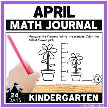 April Math Journal - Kindergarten