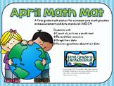 April Math Mat