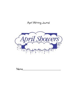 April Monthly Writing Journal