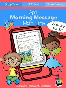 April Morning Message Math Time