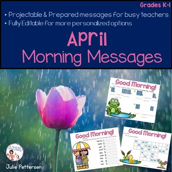 April Morning Messages