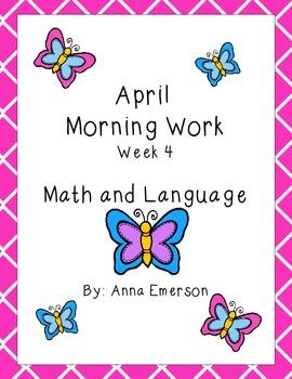 April Morning Work Week 4