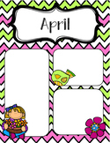 April Newsletters *Editable*