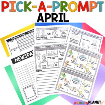 Writing Prompts: April Pick a Prompt!