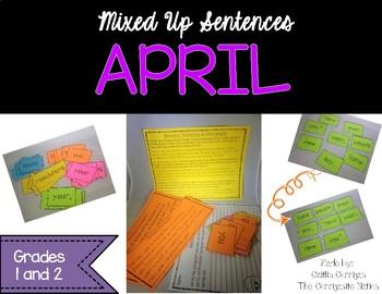 April Mixed Up Sentences