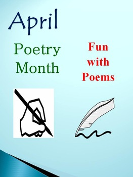 April - Poetry Month: Fun with Poems