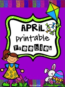 April Printable Freebies