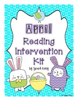 April Reading Intervention Kit