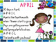 April SMARTBoard Calendar ***Common Core Aligned***