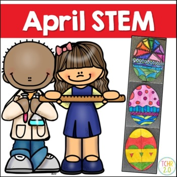 April STEM 10 Challenges Spring Eggs Clouds Water Cycle