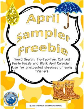 April Sampler Freebie