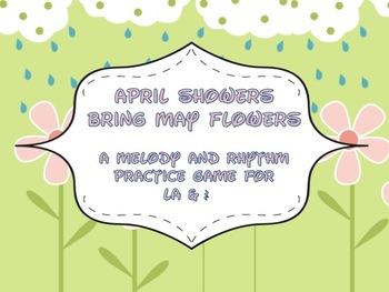 April Showers Bring May Flowers: quarter rest & la game