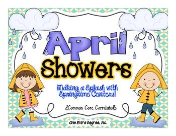 April Showers:  Making a Splash with Springtime Centers!