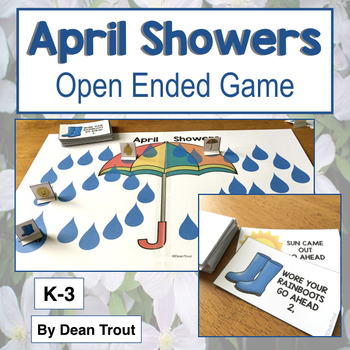 April Showers open ended board game