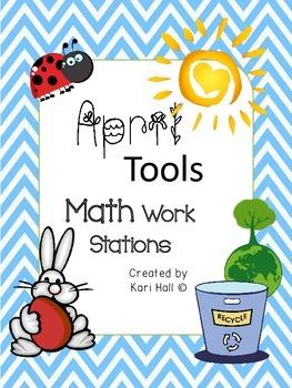 {April Tools!} April Math Work Stations