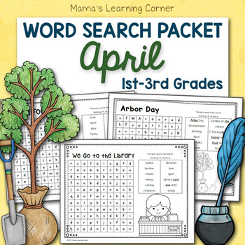 April Word Searches