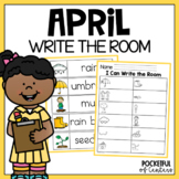 April Write the Room #kinderfriends