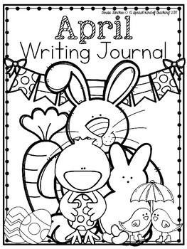 April Writing Journal {13 Fun Writing Prompts}