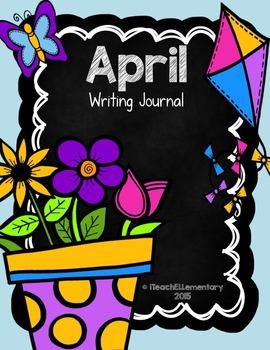April Writing Journal {NO PREP}