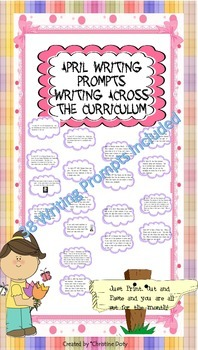 April Writing Prompts (Across Curriculum)