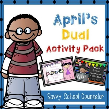 April's Dual School Counselor Activity Pack - Savvy School
