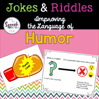 Jokes & Riddles: Improving the Language of Humor
