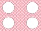 Petal Pink Tile Classroom Labels or Tags