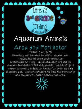 Aquarium Area and Perimeter