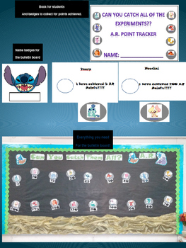 Ar Bulletin Board and Tracking Pack