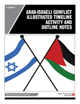 Arab-Israeli Conflict Illustrated Timeline Activity and Ou