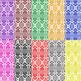 Arabesque Themed Digital Paper