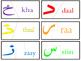 Arabic Alphabet Self Correcting Puzzle