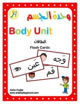 Body Unit -Flash Cards