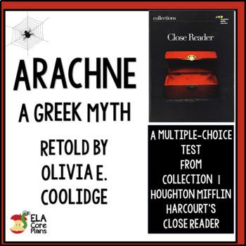 "Test for ""Arachne"" Greek Myth Retold by Olivia Coolridge i"