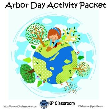 Arbor Day No Prep Activity Packet Printable Worksheets